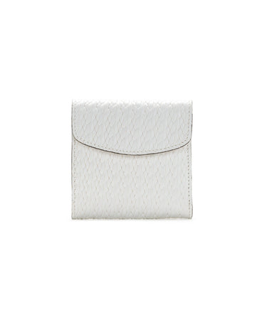 Reiti Bi Fold Wallet - Twisted Woven Embossed