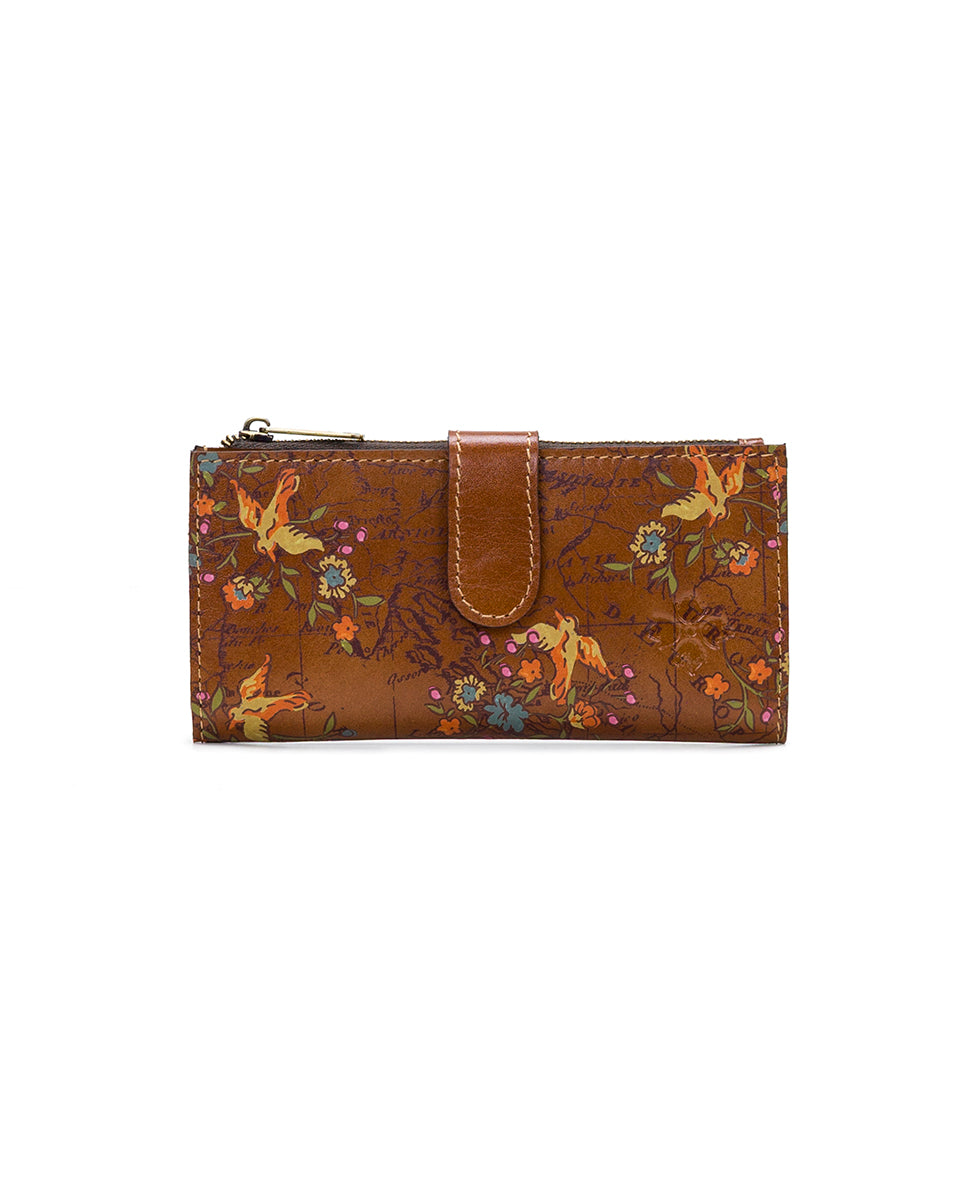 Nazari Wallet - Floral Map