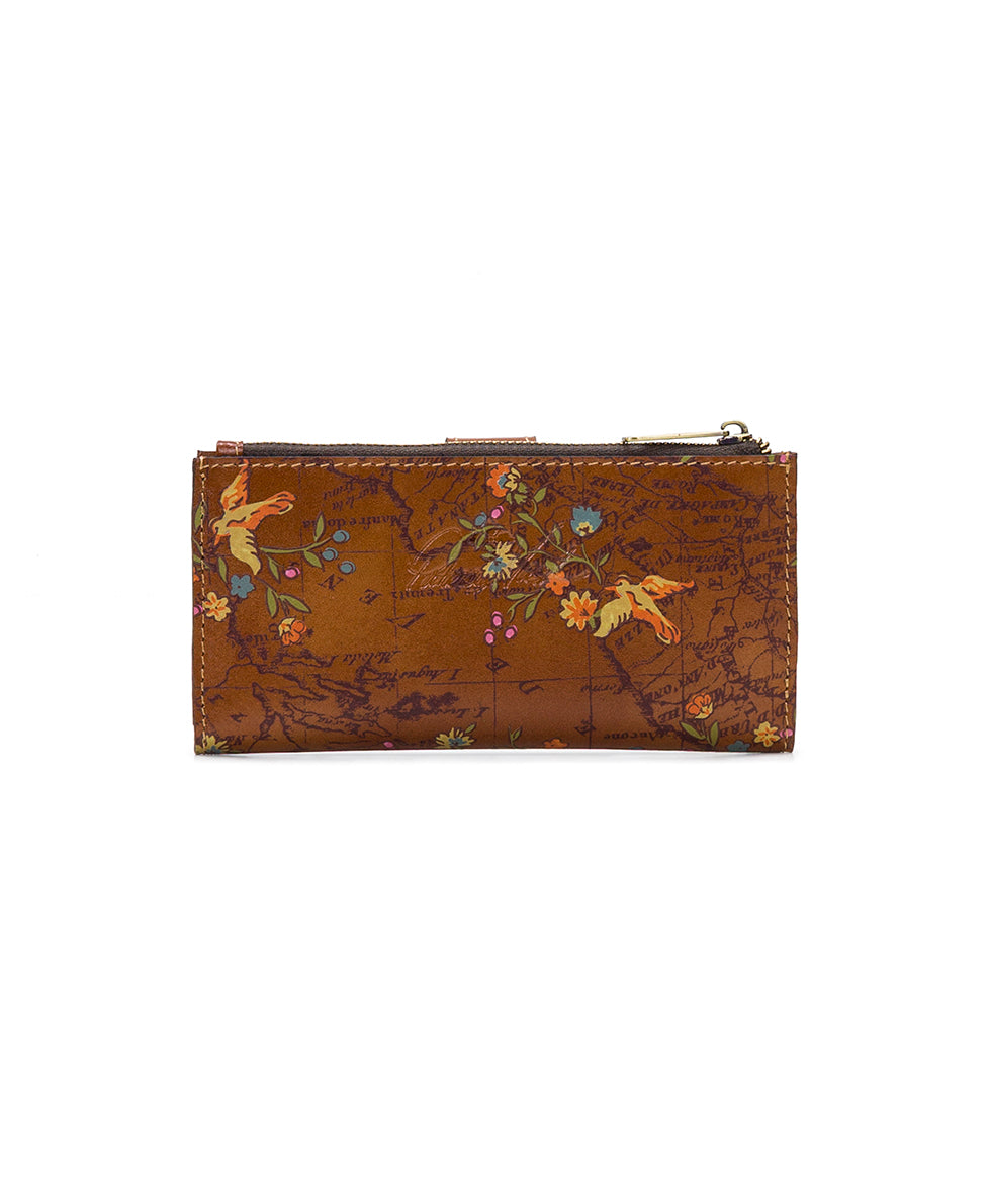 Nazari Wallet - Floral Map 2