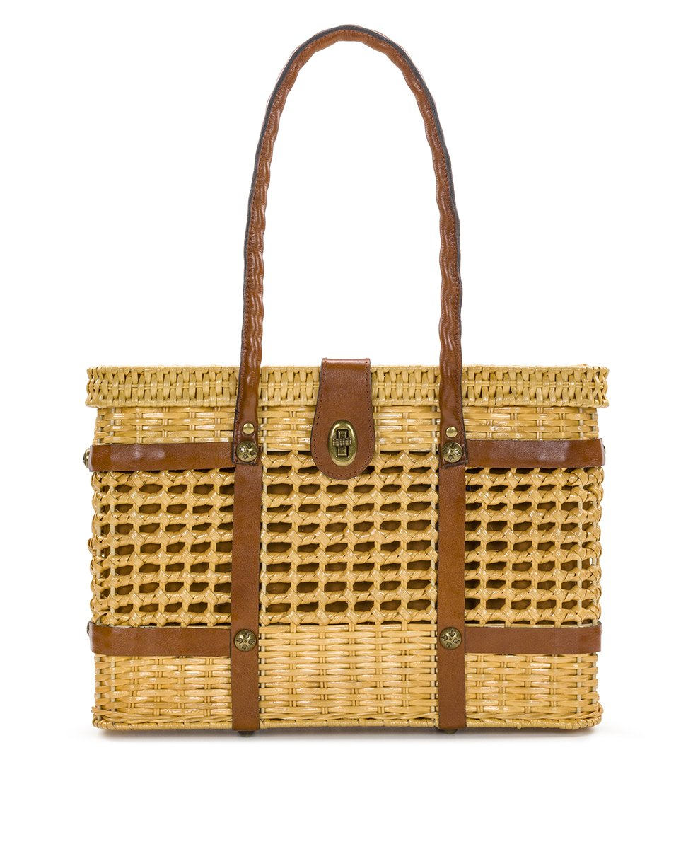 Asola Straw Satchel - Natural
