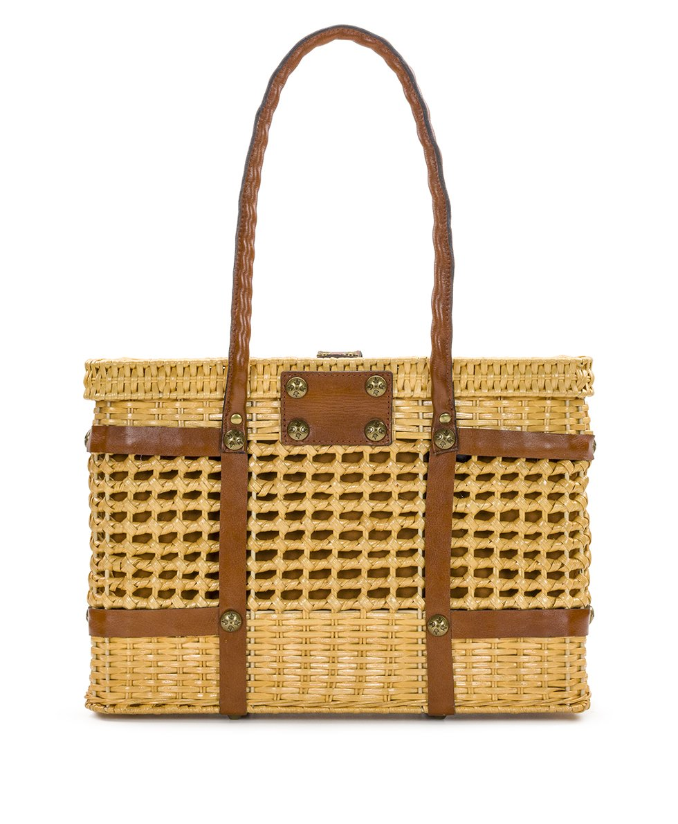 Asola Straw Satchel - Natural 2
