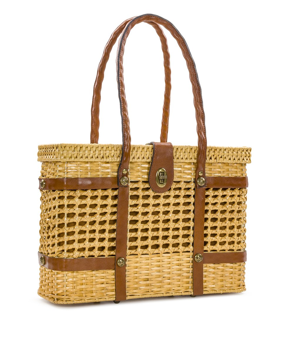 Asola Straw Satchel - Natural 3