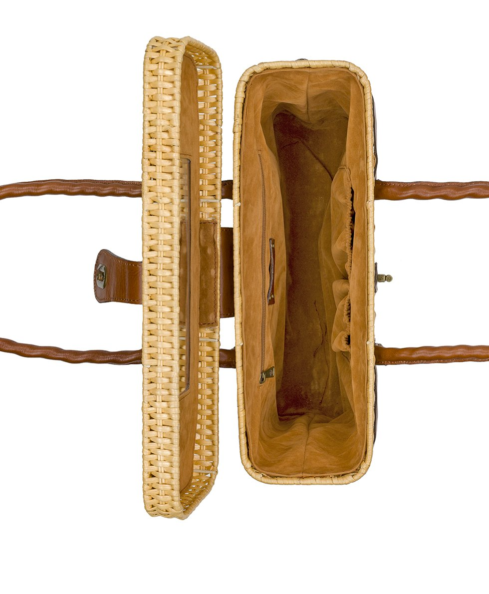 Asola Straw Satchel - Natural 4