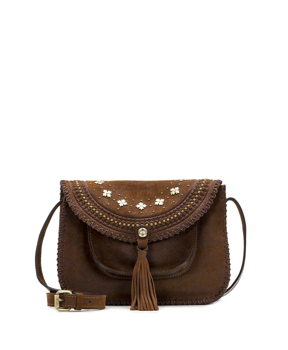 Beaumont Crossbody - Oil Burnished Suede