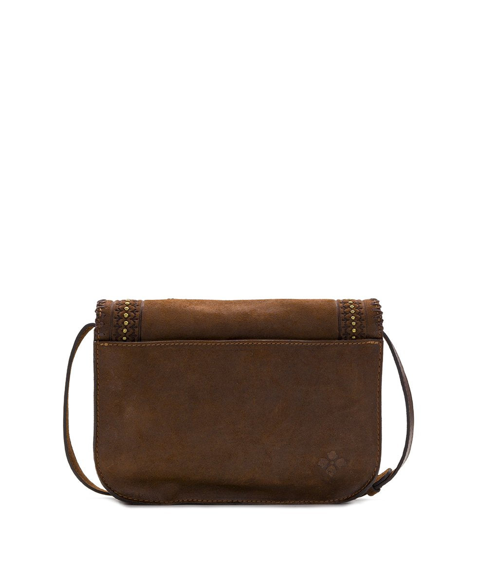 Beaumont Crossbody - Oil Burnished Suede 2