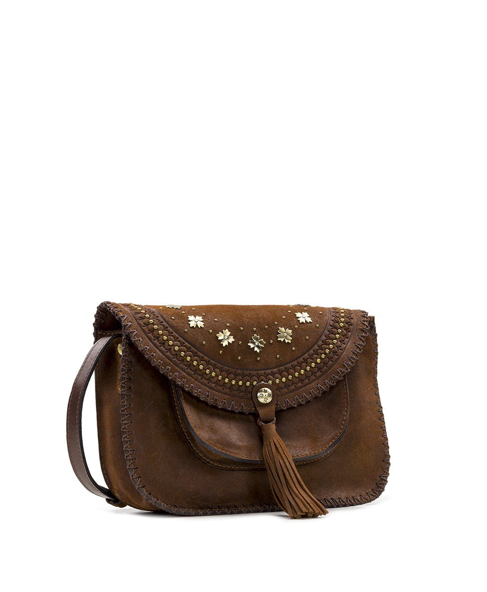 Beaumont Crossbody - Oil Burnished Suede 3