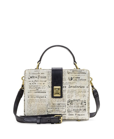 Tauria Box Bag - Newspaper - Tauria Box Bag - Newspaper
