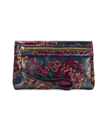 Sibilla Double Zip Wristlet - Fall Tapestry - Sibilla Double Zip Wristlet - Fall Tapestry