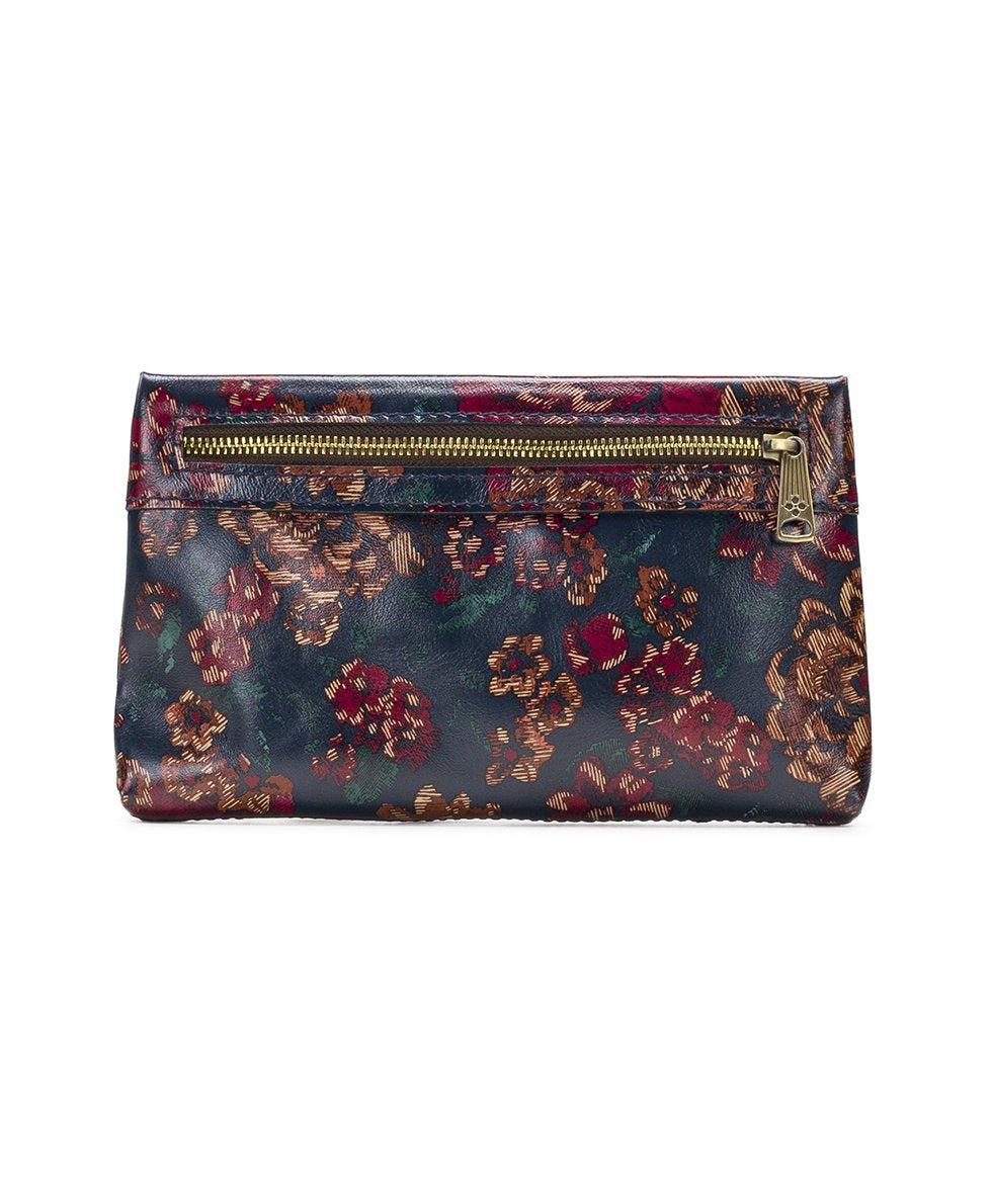 Sibilla Double Zip Wristlet - Fall Tapestry 2