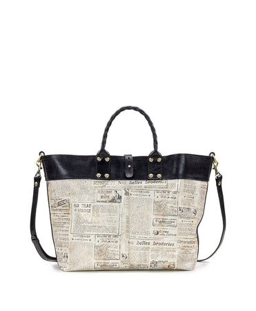 Emilion Tote - Newspaper - Emilion Tote - Newspaper