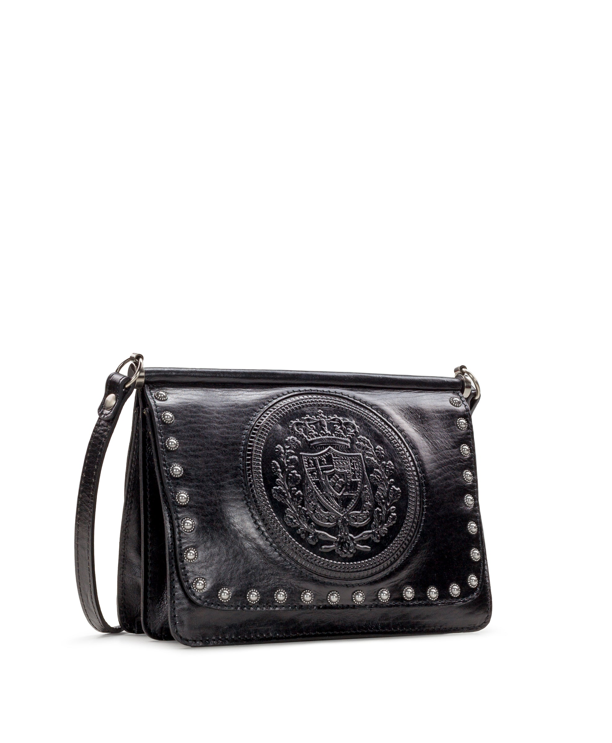 Caprera - Embossed Shield Black 3