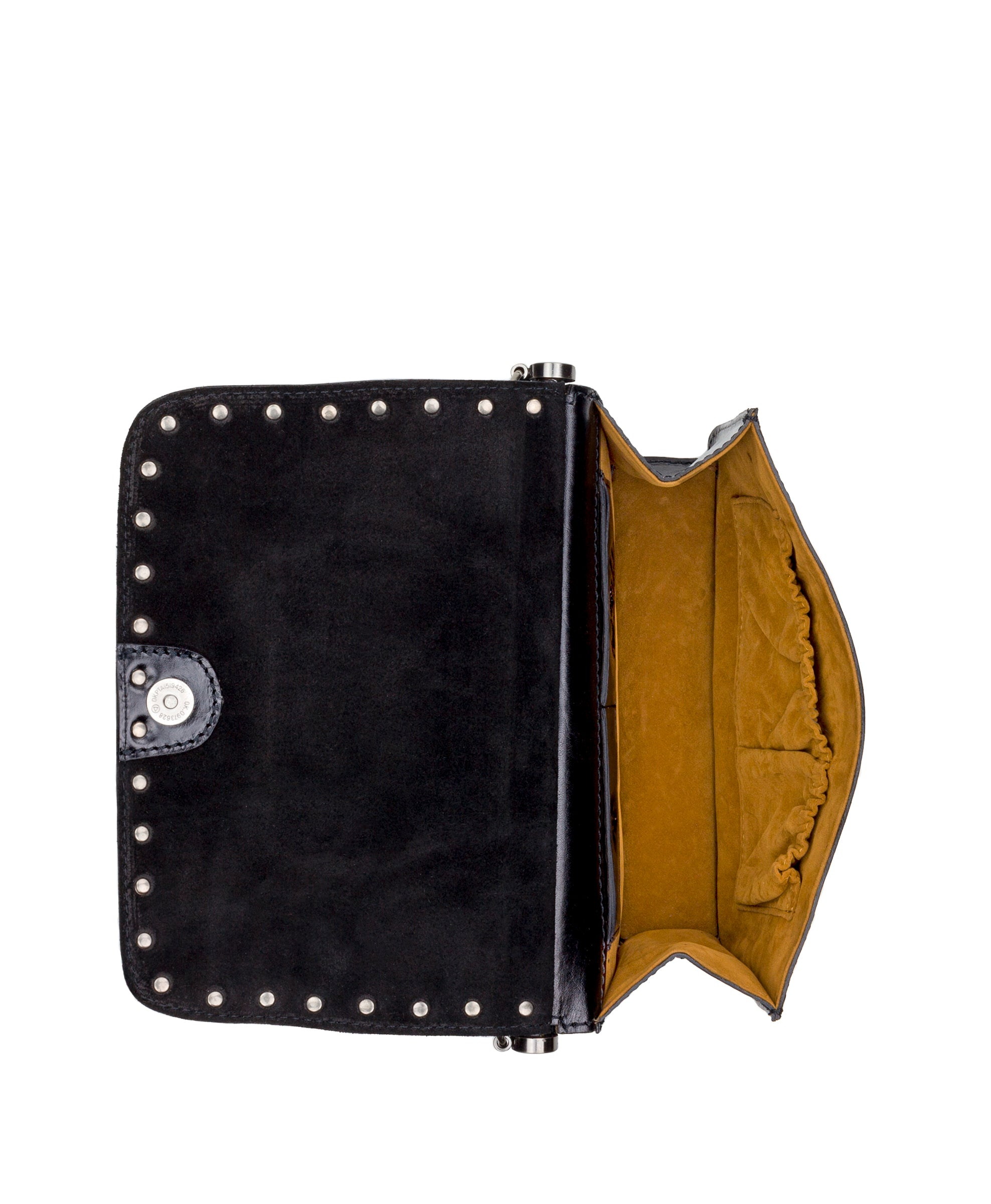 Caprera - Embossed Shield Black 4