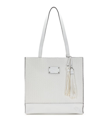 Toscano Tote - Twisted Woven Embossed - Toscano Tote - Twisted Woven Embossed