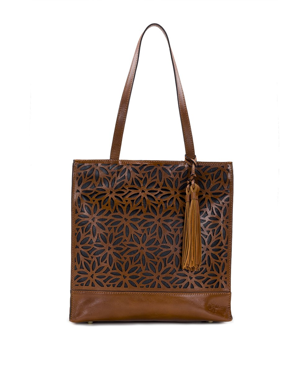 Toscano Tote - Perforated Sunflower