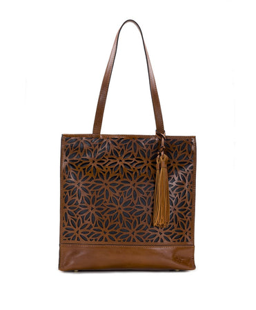 Toscano Tote - Perforated Sunflower - Toscano Tote - Perforated Sunflower