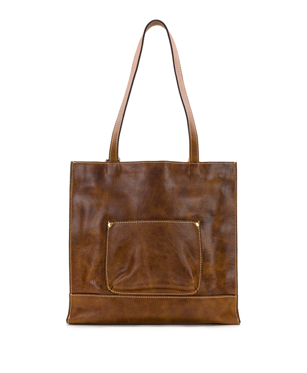 Toscano Tote - Tonal Natural Embroidery 2