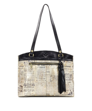Poppy Tote - Newspaper - Poppy Tote - Newspaper