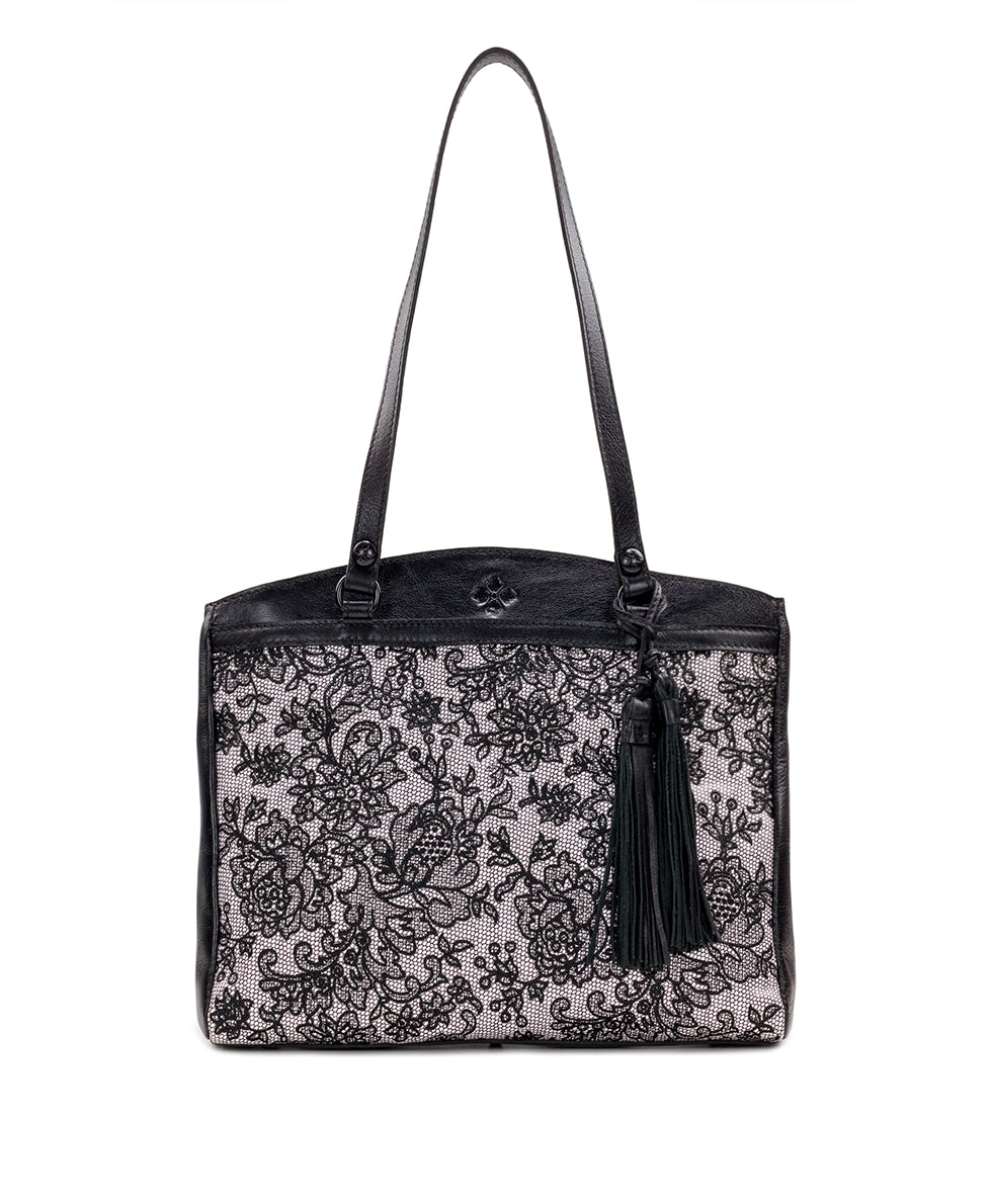 Poppy Tote - Chantilly Lace