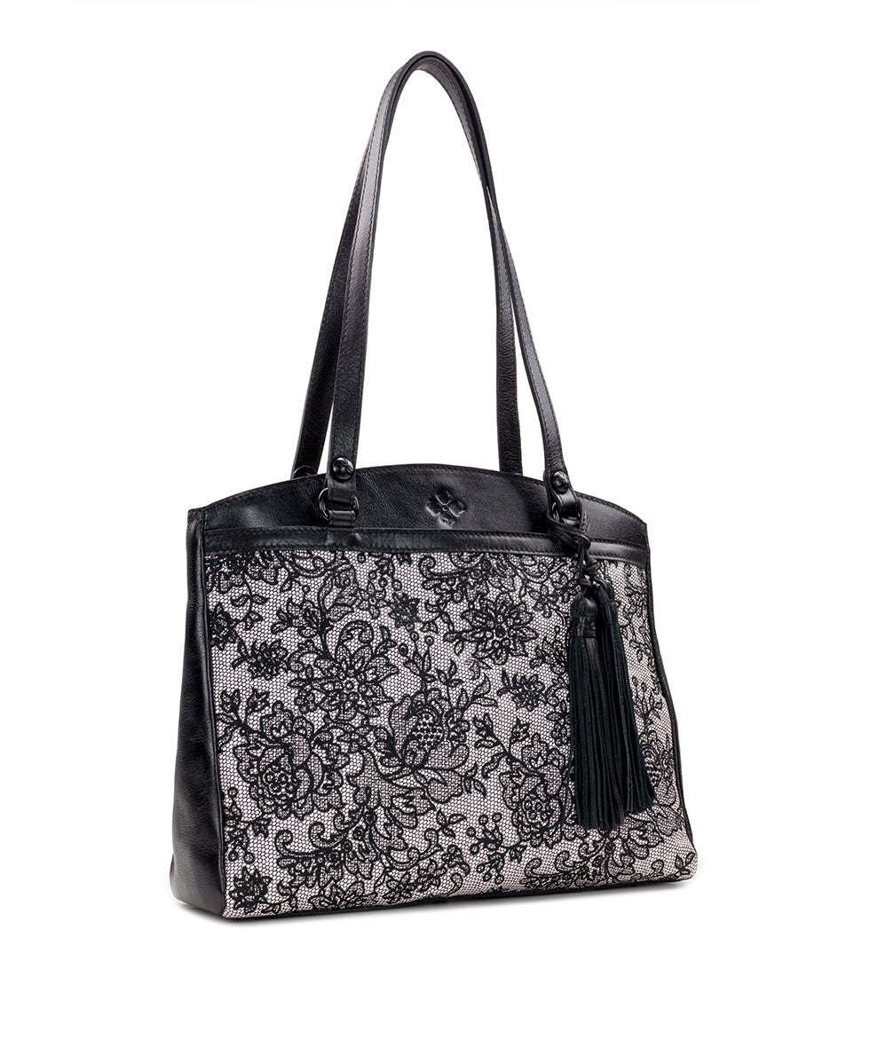 Poppy Tote - Chantilly Lace 3