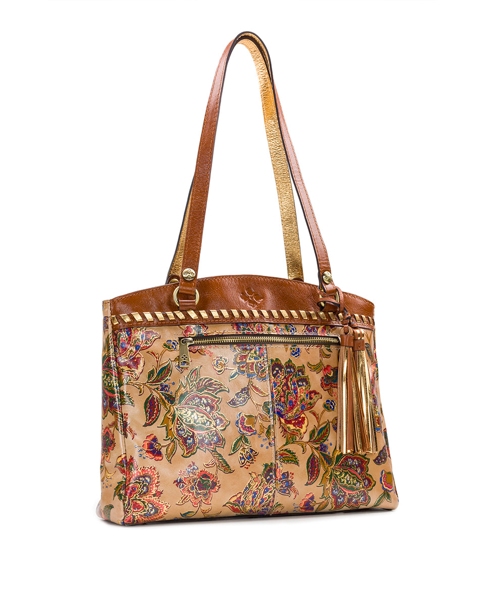 Poppy Tote - French Tapestry 3