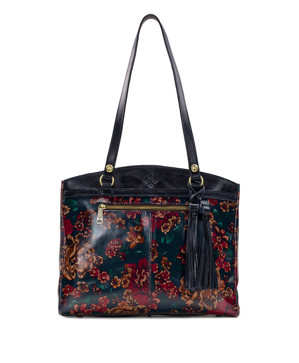 Poppy Tote - Fall Tapestry 1