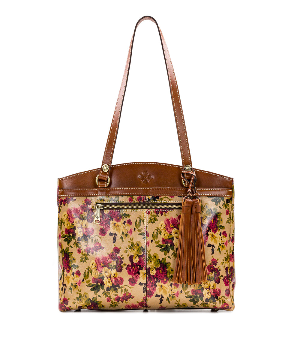 Poppy Tote - Antique Rose