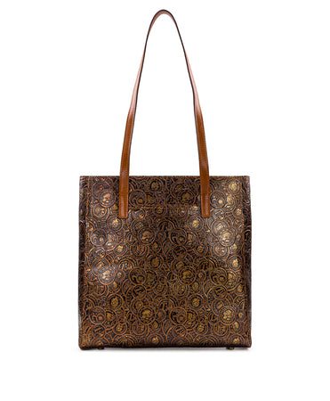 Viana Tote - Coin Tooled - Viana Tote - Coin Tooled