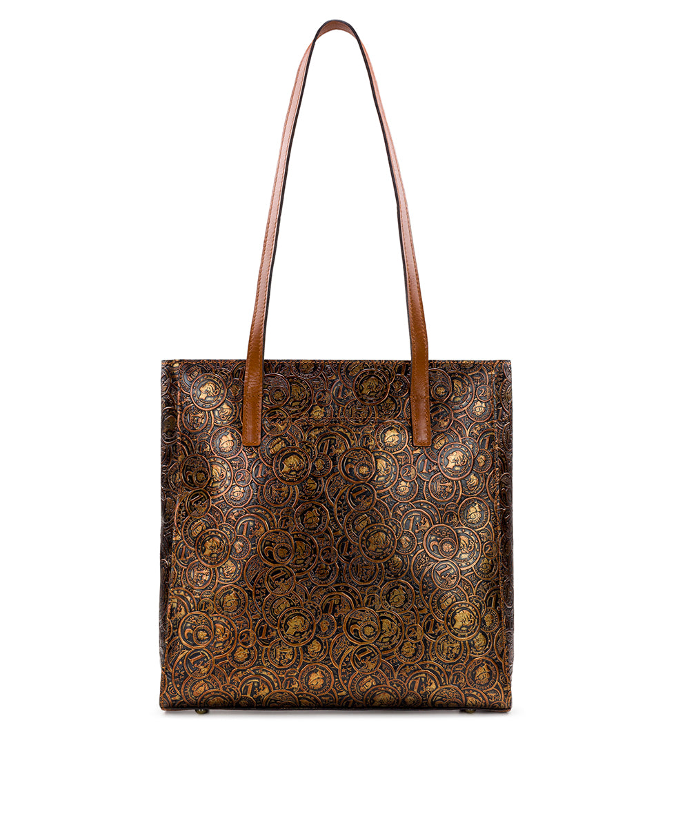Viana Tote - Coin Tooled 2