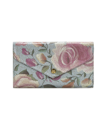 Aprilia Envelope Wallet - Crackled Rose - Aprilia Envelope Wallet - Crackled Rose