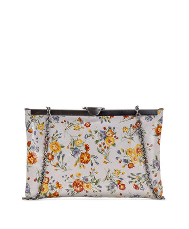 Asher Frame Clutch- Mini Meadows - Asher Frame Clutch- Mini Meadows