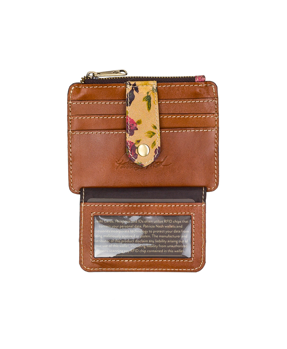 Cassis ID Case - Antique Rose 3