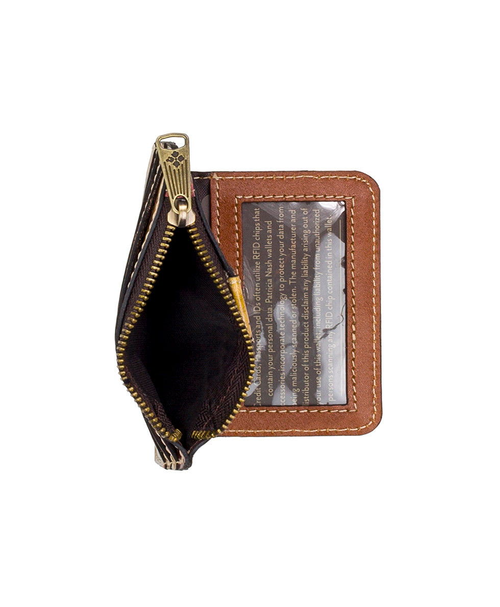 Cassis ID Case - Antique Rose 4