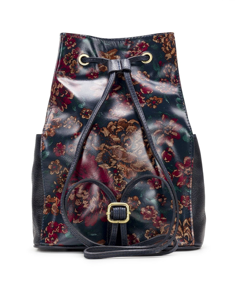 Tierce Drawstring Backpack - Fall Tapestry 2