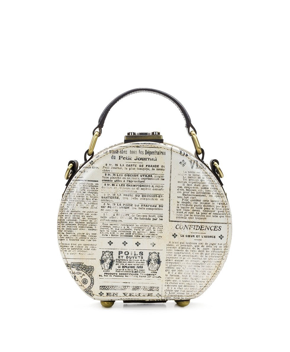 Allier Hat Box - Newspaper 2
