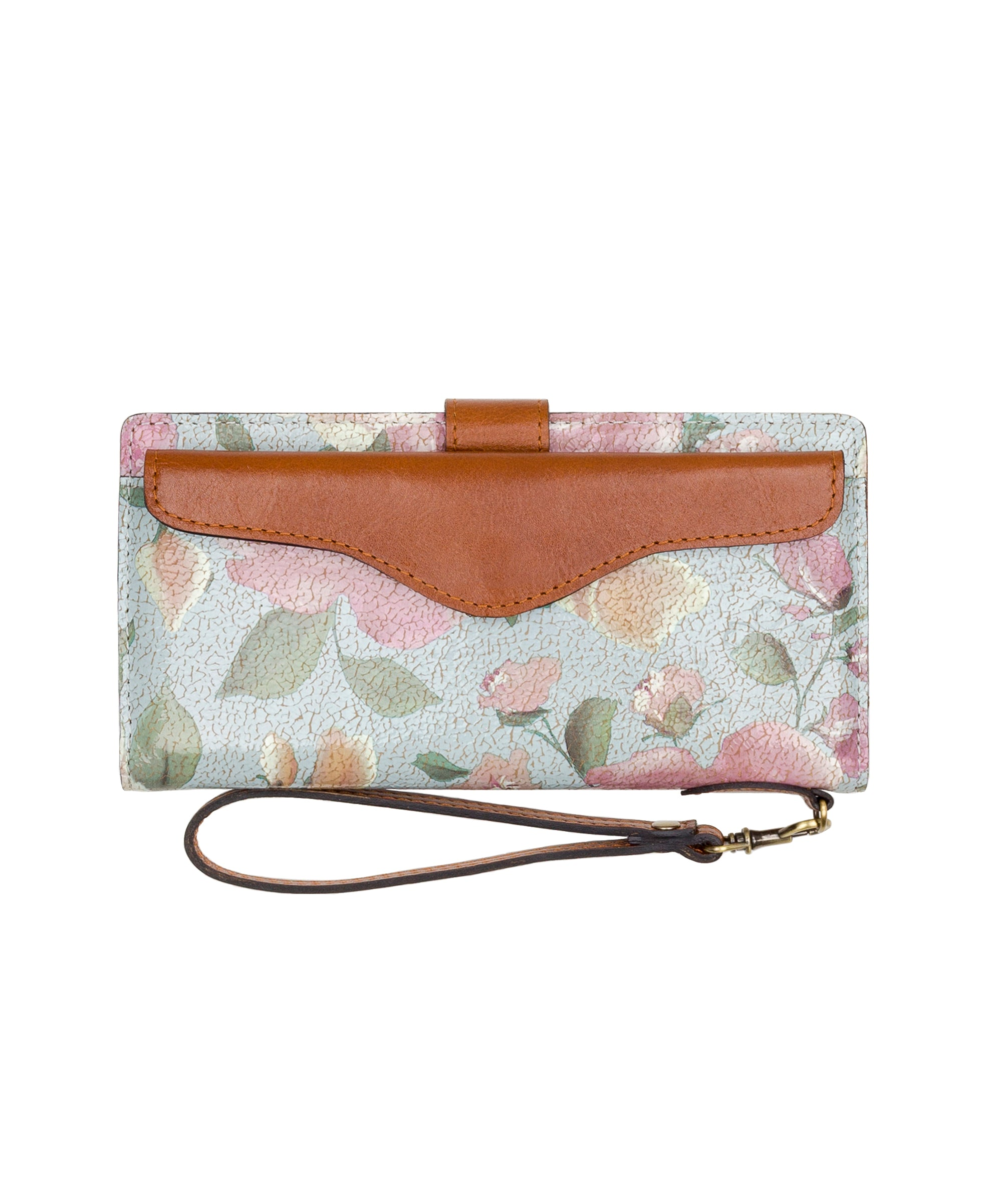 Valentia II Snap Wristlet - Crackled Rose