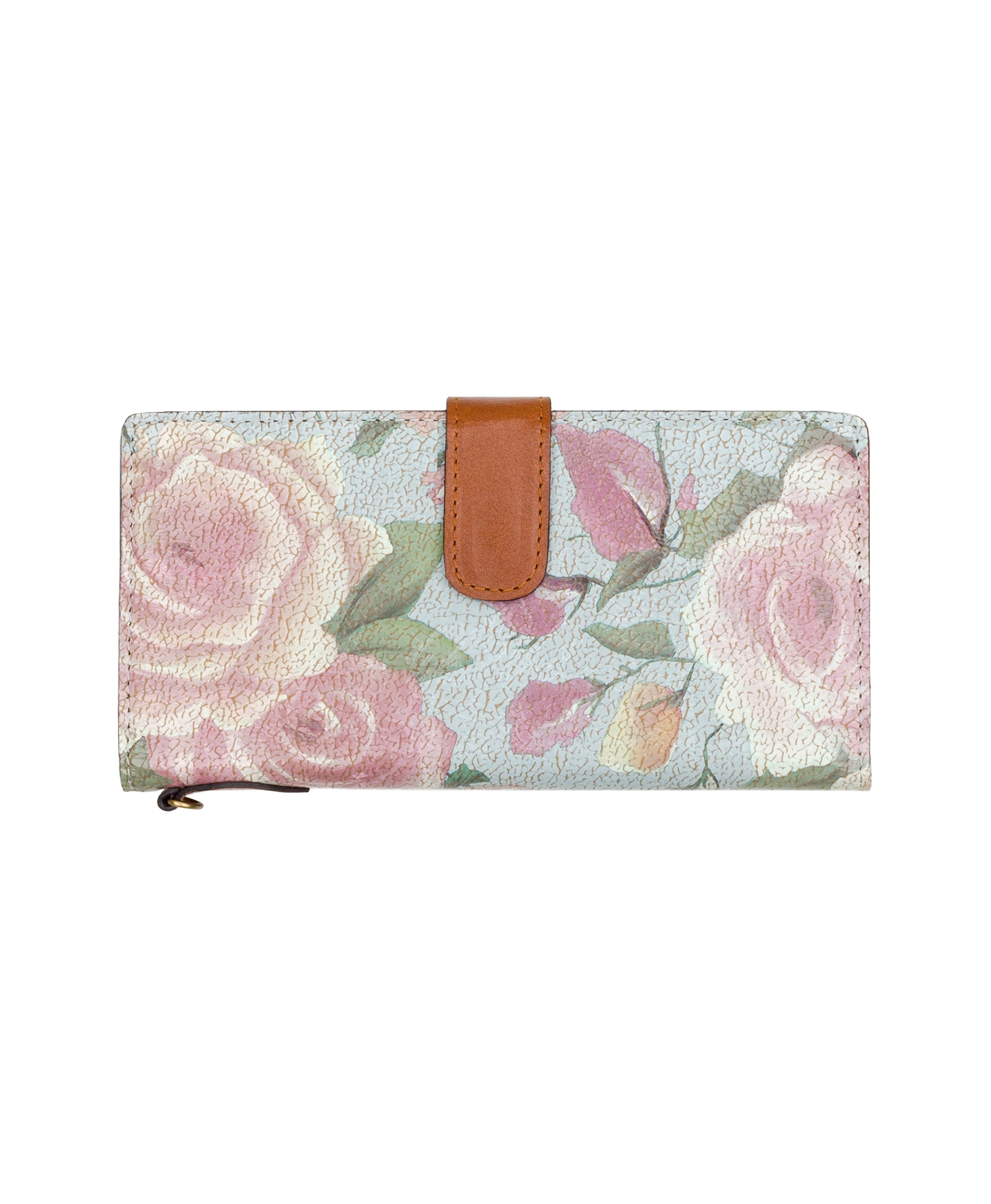 Valentia II Snap Wristlet - Crackled Rose 2