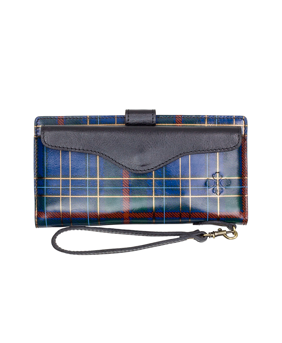 Valentia II - Blue Green Tartan Plaid