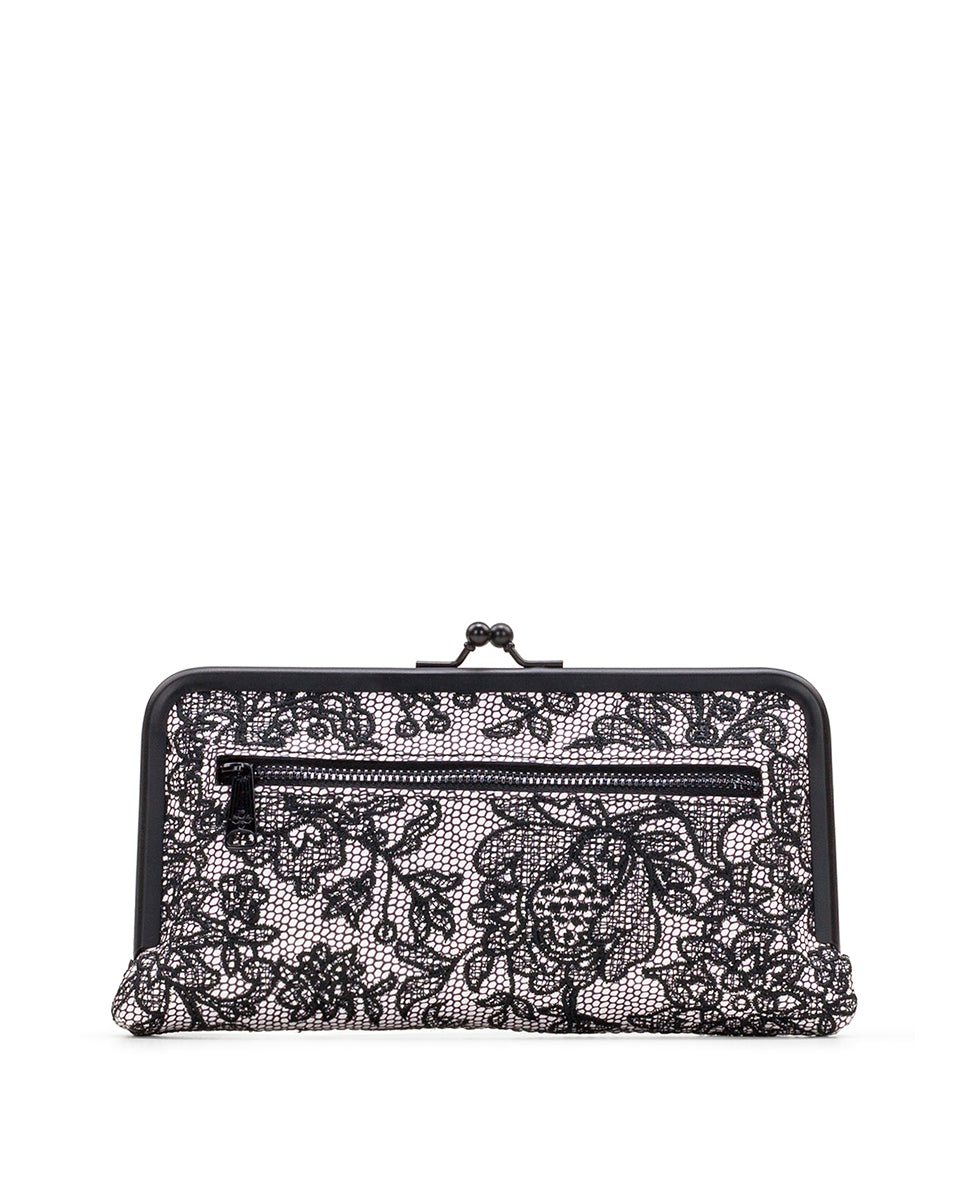 Everly Wallet - Chantilly Lace 2