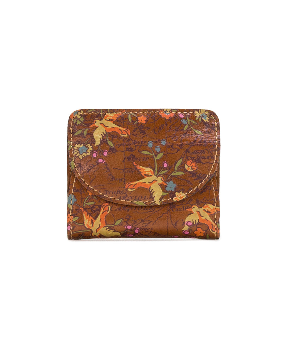 Canelli Coin Wallet - Floral Map