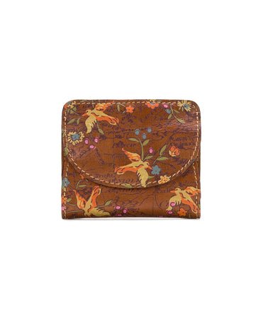 Canelli Coin Wallet - Floral Map - Canelli Coin Wallet - Floral Map