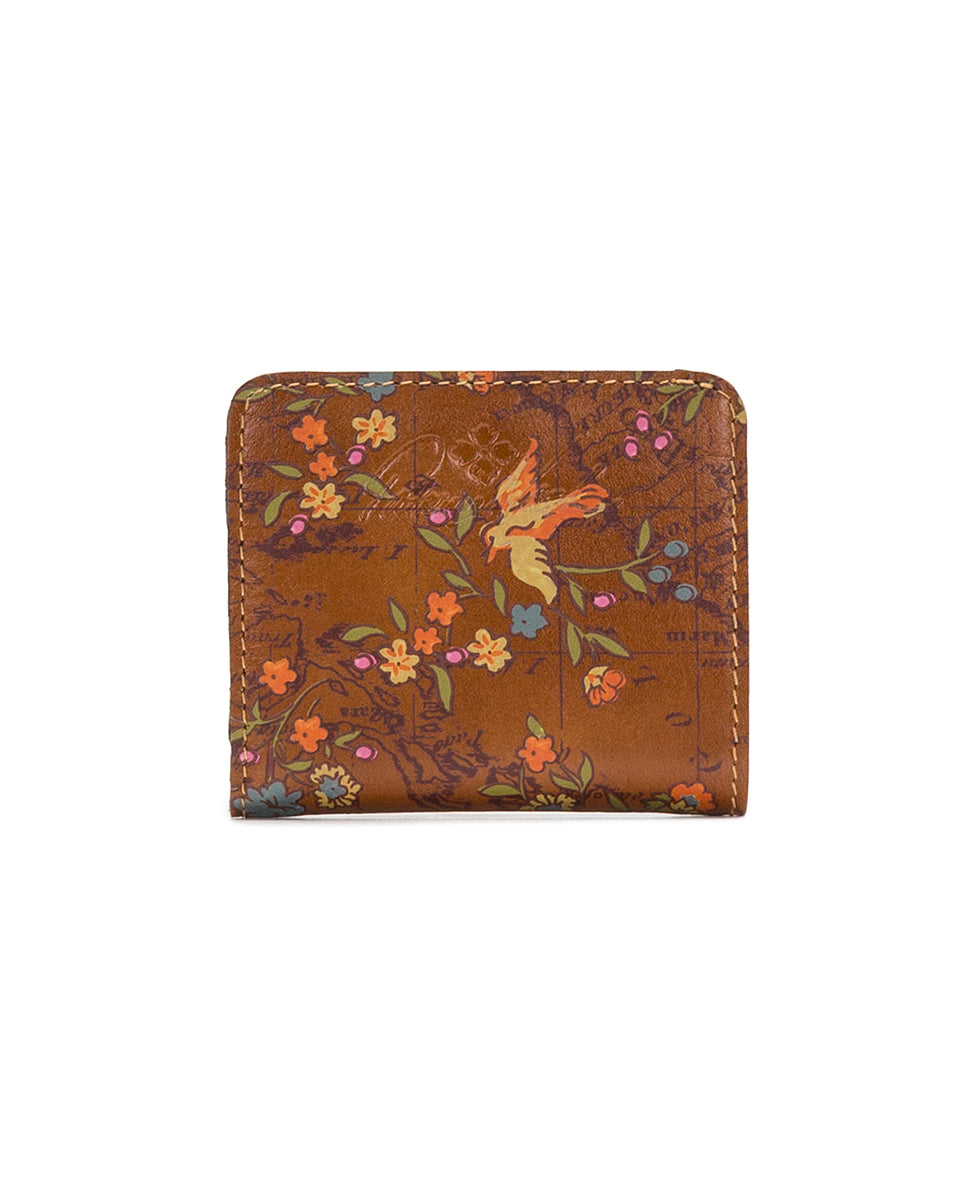 Canelli Coin Wallet - Floral Map 2