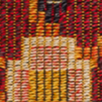 Salvina - Peruvian Tapestry - Red - Swatch
