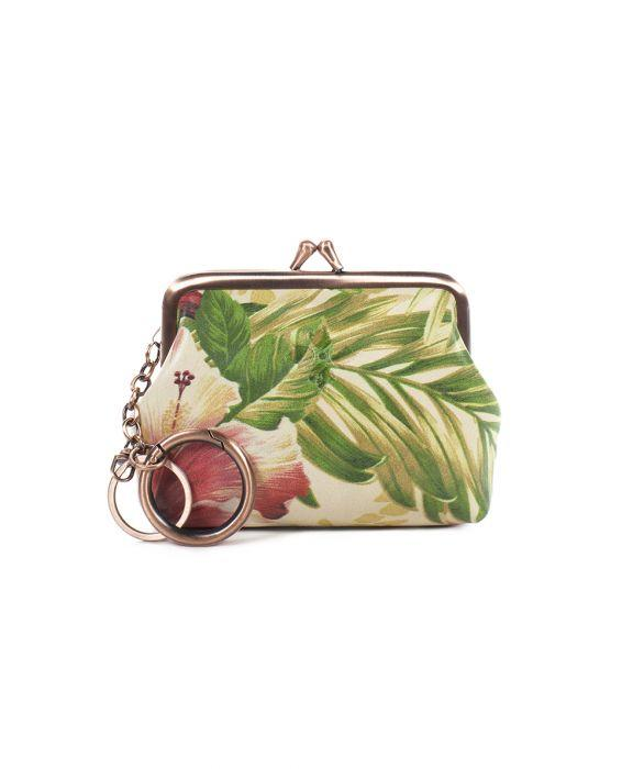 Borse Coin Purse - Cuban Tropical Natural