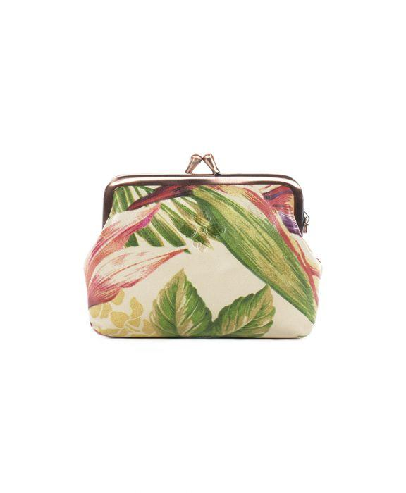 Borse Coin Purse - Cuban Tropical Natural 2
