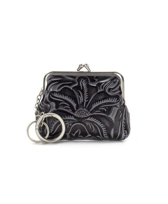 Borse Coin Purse - Black Tuscan