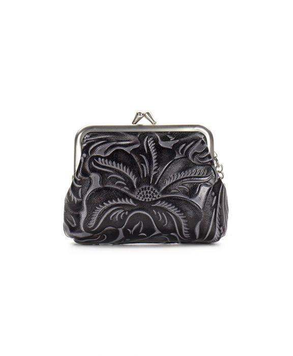 Borse Coin Purse - Black Tuscan 2