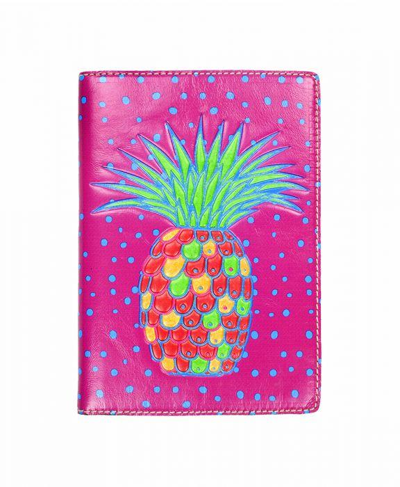 Vinci Journal - Pineapple Polka Dot Pink