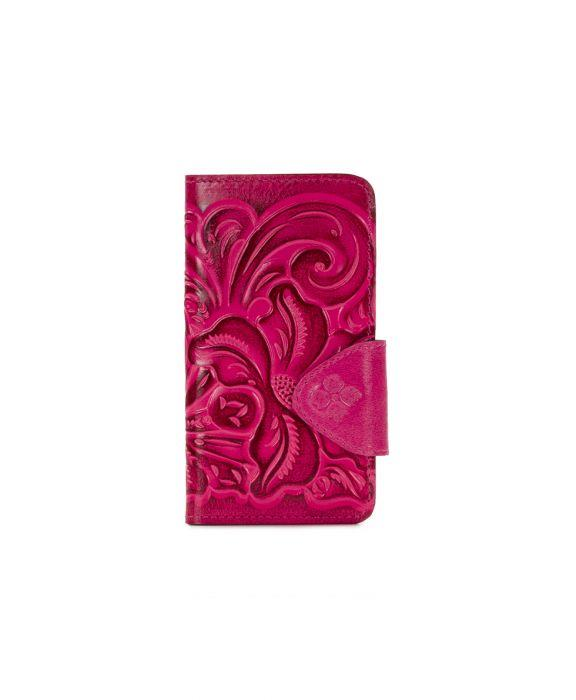 Alassio iPhone 8+ Case - Burnished Tooled - Pink