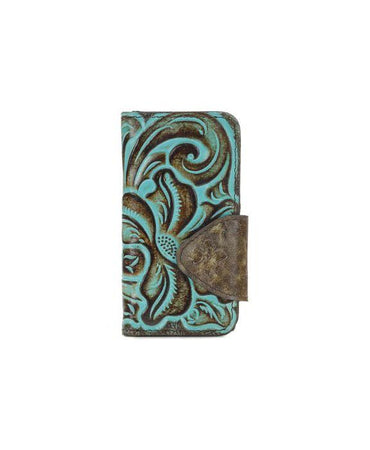 Alessandria iPhone 8 Case - Tooled Turquoise