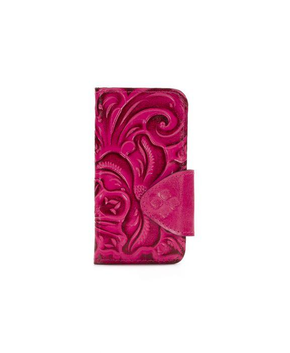 Alessandria iPhone 8 Case - Burnished Tooled - Pink